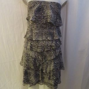 d7edb718 BCBGMaxAzria Dresses - BCBGMAXAZRIA GINGER TIERED RUFFLE DRESS 12